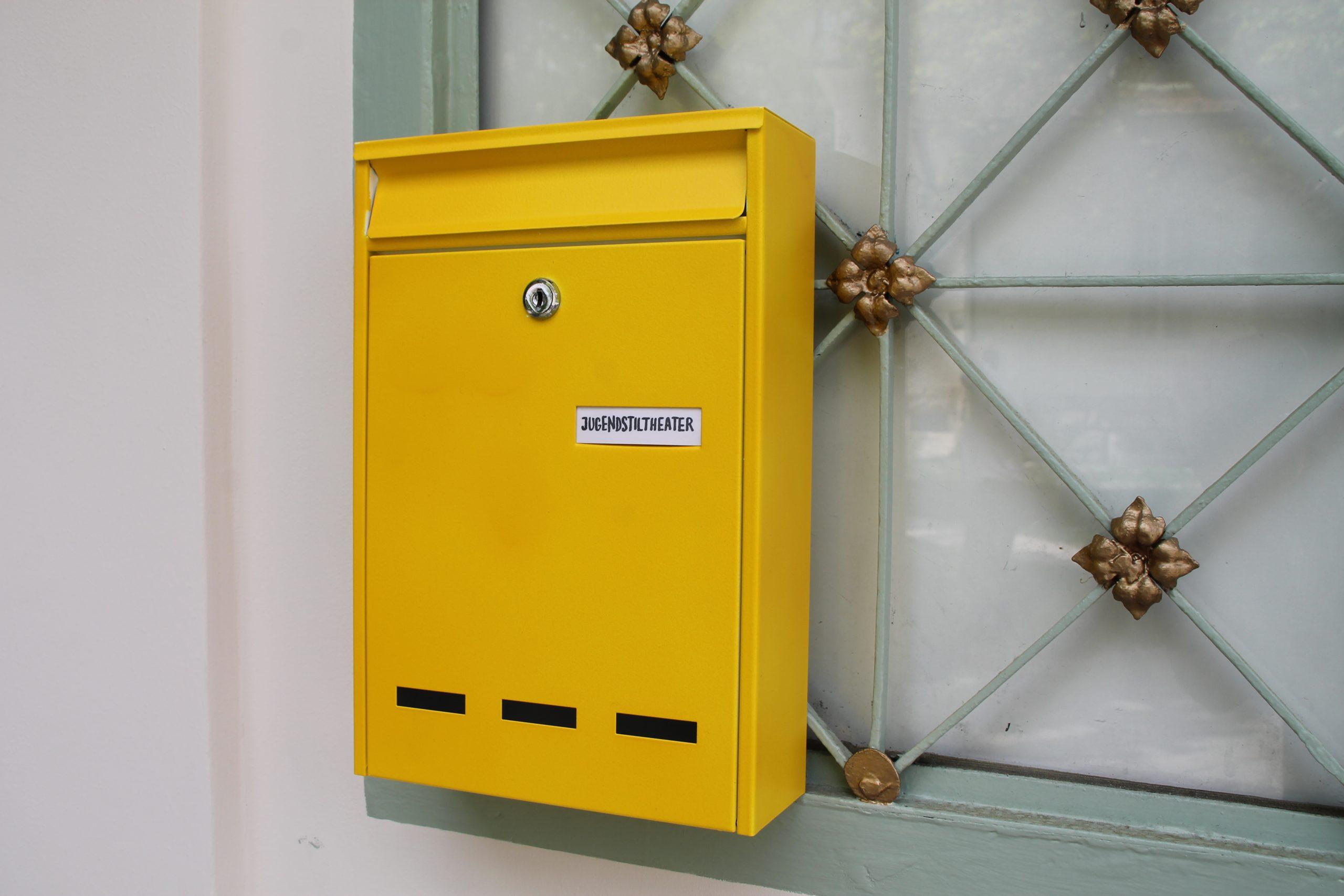 Briefkasten am Jugendstiltheater